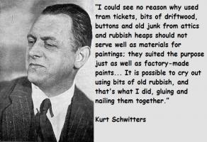 Kurt Schwitters's quote