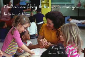 Lady Bird Johnson's quote