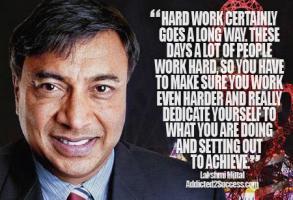 Lakshmi Mittal's quote