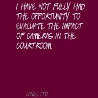 Lance Ito's quote #4