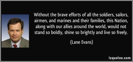 Lane Evans's quote #2