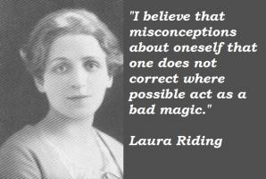 Laura Riding's quote