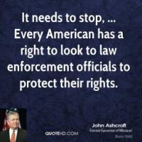 Law Enforcement Officials quote #2