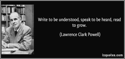 Lawrence Clark Powell's quote
