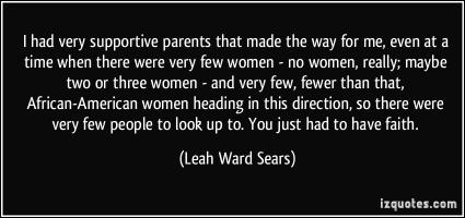 Leah Ward Sears's quote #3
