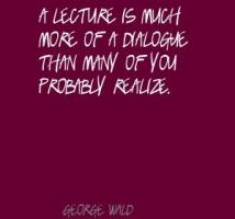 Lecture quote #4