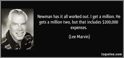 Lee Marvin's quote