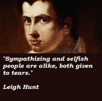 Leigh Hunt's quote