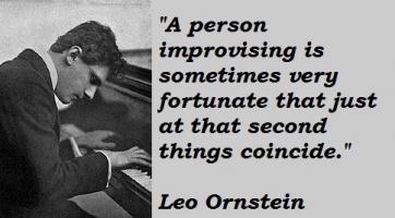 Leo Ornstein's quote