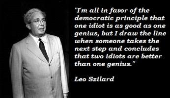 Leo Szilard's quote