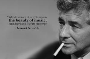 Leonard Bernstein's quote #4
