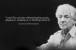 Leonard Bernstein's quote