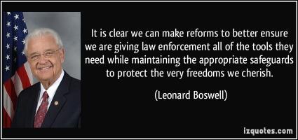 Leonard Boswell's quote