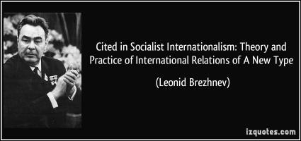 Leonid I. Brezhnev's quote #2