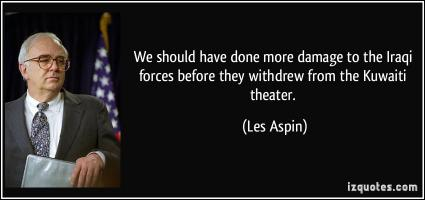 Les Aspin's quote #3