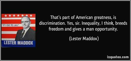 Lester Maddox's quote #1