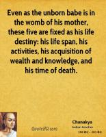 Life Span quote #2