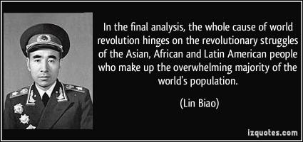 Lin Biao's quote #1
