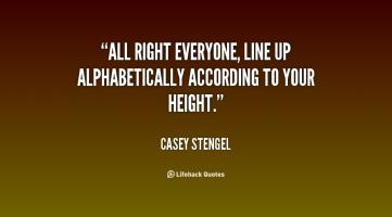 Line-Up quote #2