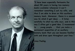 Linus Pauling's quote