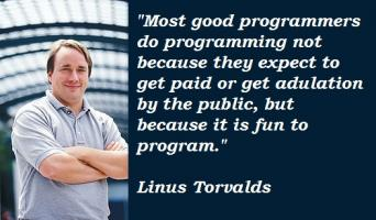 Linus Torvalds's quote