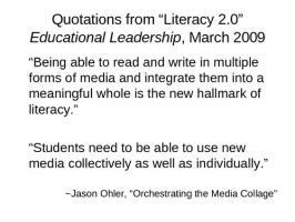 Literacy quote #1