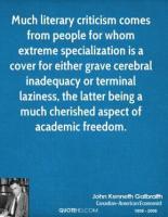 Literary Criticism quote #2