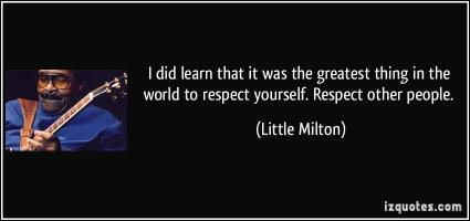 Little Milton's quote