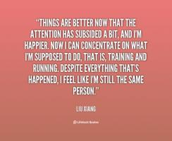 Liu Xiang's quote #3