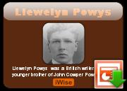 Llewelyn Powys's quote