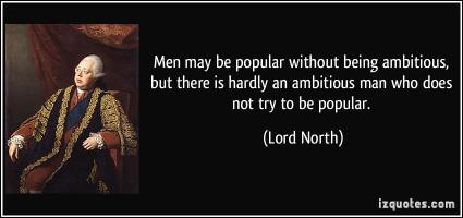 Lord North's quote