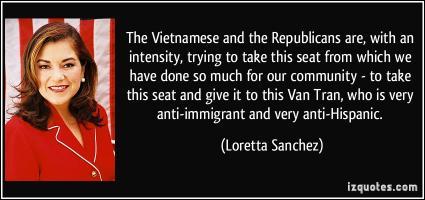 Loretta Sanchez's quote #1