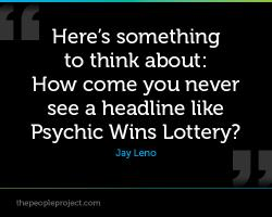Lottery quote #4
