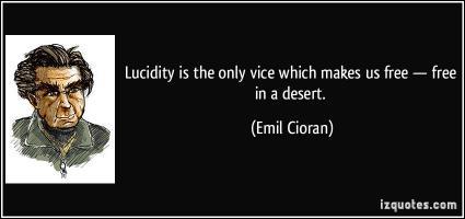 Lucidity quote