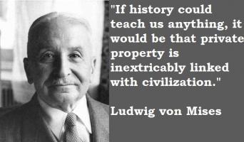 Ludwig von Mises's quote