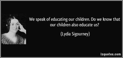 Lydia Sigourney's quote