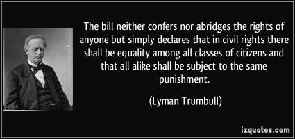 Lyman Trumbull's quote #1