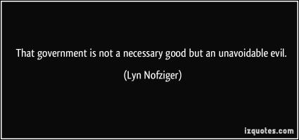 Lyn Nofziger's quote