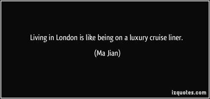 Ma Jian's quote