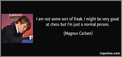 Magnus Carlsen's quote