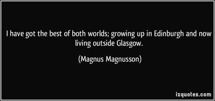 Magnus Magnusson's quote #2