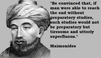 Maimonides's quote