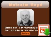 Malcolm Boyd's quote