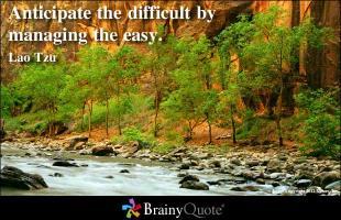 Managing quote