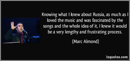 Marc Almond's quote