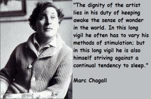 Marc Chagall's quote