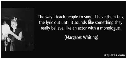 Margaret Whiting's quote