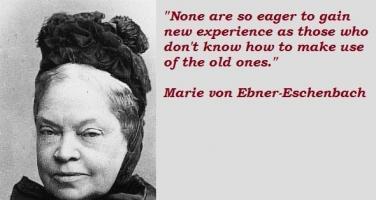 Marie von Ebner-Eschenbach's quote