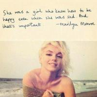 Marilyn Monroe quote #2