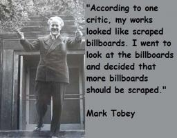 Mark Tobey's quote #1